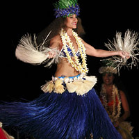 Royal Hawaiian Dancer